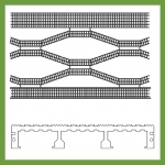 30mm Load Bar Grating - Knurled