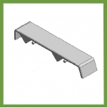 Micro Sash Lock Sill Cap right hand