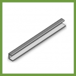 Series 13 Grating End Bar