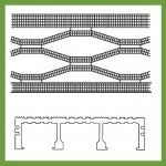 40mm Load Bar Grating - Knurled