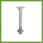 12mm Galvanised Bolt and Nut